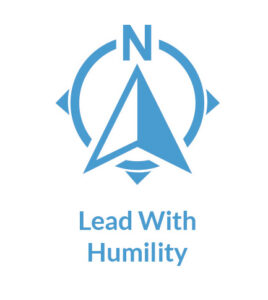Lean Focus Core Values - Lead with Humility