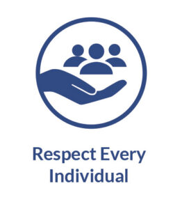 Lean Focus Core Values - Respect Every Individual